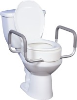 Aquatec A900 Raised Toilet Seat With Arms Macdonald S