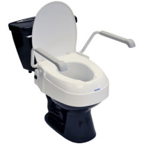 Aquatec A900 Raised Toilet Seat with Arms
