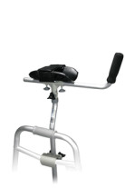 Bariatric Universal Platform Walker and Crutch Attachment