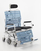Broda Bariatric 385 Transport Commode Shower Chair