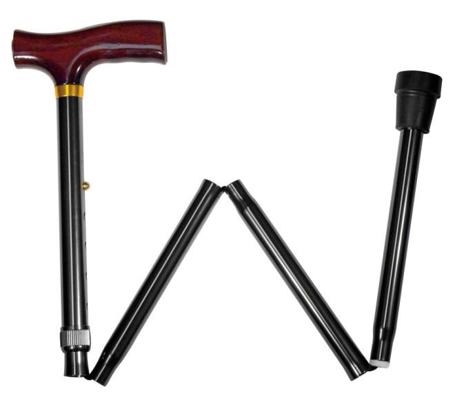 Foldable cane