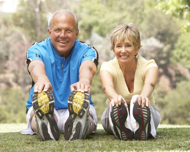 Seniors stretching: boost senior immunity