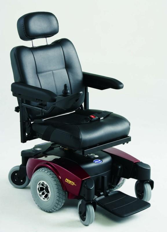 Mid-wheel drive power chair