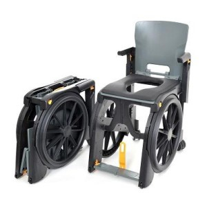 symposium Wheelable Travel Aid, Shower and Commode Chair