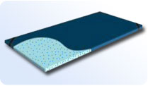 Latex Foam Mattress Overlay
