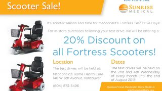Summer Scooter Sale – Fortress Test Drive Days!