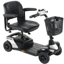 Invacare Colibri 4 or 3 Wheel White Scooter
